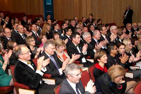 Audience for the Annual Lecture