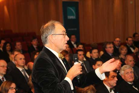 Question from the floor during the Annual Lecture