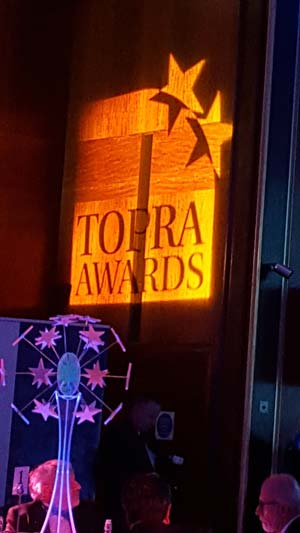 TOPRA Awards logo
